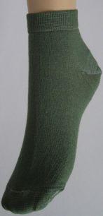 Носки короткие однотонные р-р 23-25