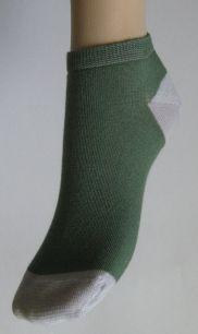 Носки Ультра короткие - однотонные 23-25